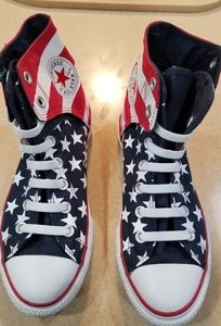 Kids American Flag Converse on Poshmark